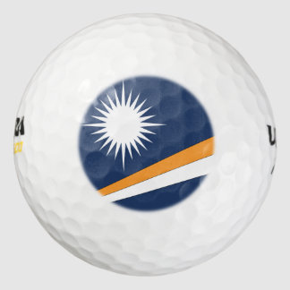 Marshall Islands Flag Golf Balls