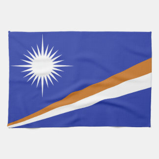Marshall Islands Flag Hand Towel