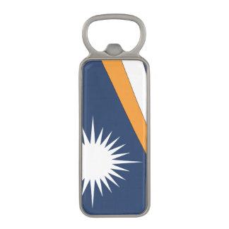 MARSHALL ISLANDS FLAG MAGNETIC BOTTLE OPENER
