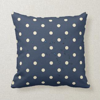 marshall islands Flag Map on Polka Dots Pillows