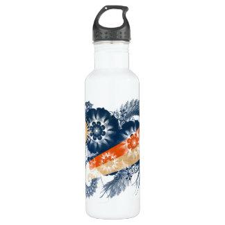 Marshall Islands Flag 24oz Water Bottle