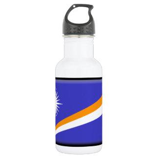 Marshall Islands Flag 18oz Water Bottle
