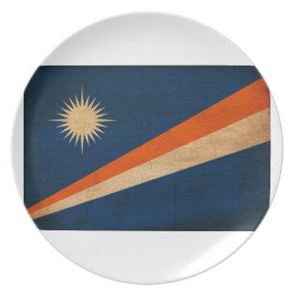 Marshall Islands Flag Plates