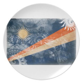 Marshall Islands Flag Party Plate