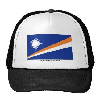 Marshall Islands flag souvenir hat