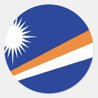 Marshall Islands flag sticker