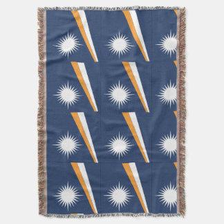 MARSHALL ISLANDS FLAG THROW