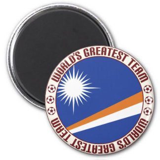 Marshall Islands Greatest Team 2 Inch Round Magnet