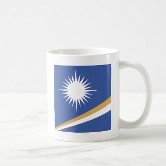 Marshall Islands High quality Flag Classic White Coffee Mug