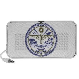 Marshall Islands National Seal Portable Speakers