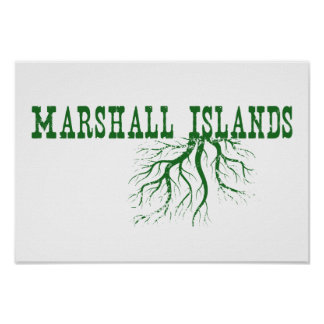 Marshall Islands Roots Poster