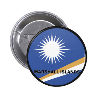 Marshall Islands Roundel quality Flag Pinback Button