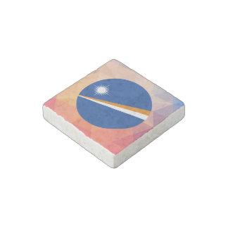 Marshall Islands Souvenir Stone Magnet