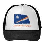 Marshall Islands Waving Flag w Name in Marshallese Trucker Hat