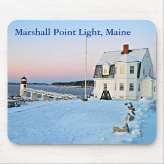 Marshall Point Light, Maine Mousepad