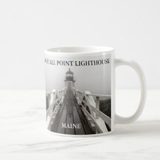 Marshall Point Light, Port Clyde Maine Classic White Coffee Mug