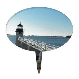 Marshall Point Lighthouse 5 Cake Pick