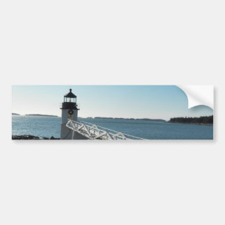 Marshall Point Lighthouse 5 Car Bumper Sticker