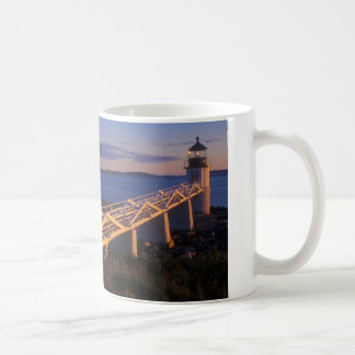 Marshall Point Lighthouse at Sunset Coffee Mug