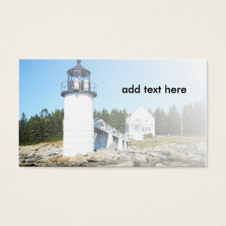 marshall Point Lighthouse in Maine Business Card