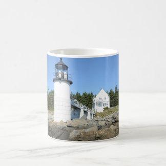 marshall Point lighthouse in Maine Coffee Mug