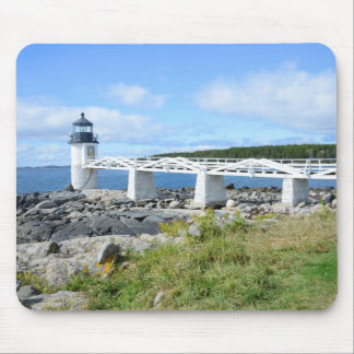 Marshall Point lighthouse in Maine Mouse Pad