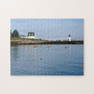 Marshall Point Lighthouse, Port Clyde Maine Puzzle