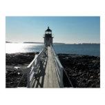 Marshall Point Lighthouse Postcard