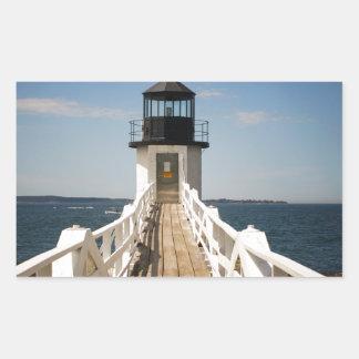 Marshall Point Lighthouse Rectangular Sticker