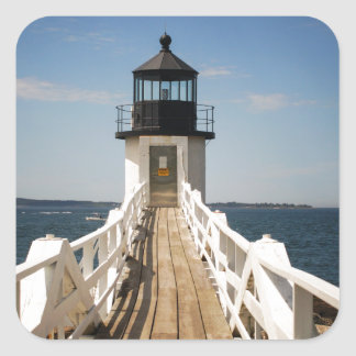 Marshall Point Lighthouse Square Sticker