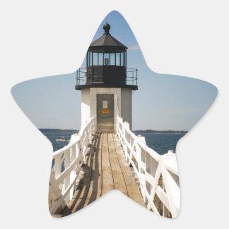 Marshall Point Lighthouse Star Sticker