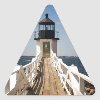 Marshall Point Lighthouse Triangle Sticker