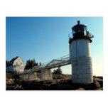 Marshall Point,Maine Postcard