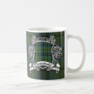 Marshall Tartan Shield Coffee Mug