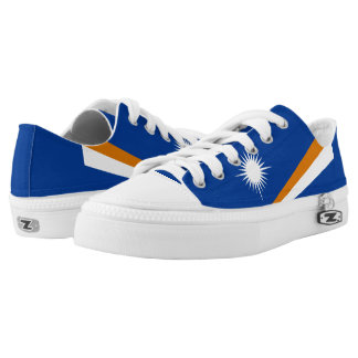 Marshallese flag Low-Top sneakers