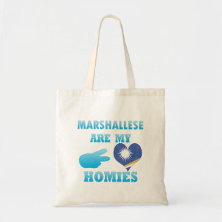 Marshalleses are my Homies Tote Bag