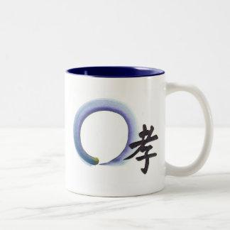 Marshalling Piety Enso Two-Tone Coffee Mug
