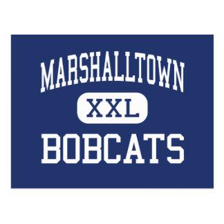Marshalltown - linces - alto - Marshalltown Iowa Tarjetas Postales