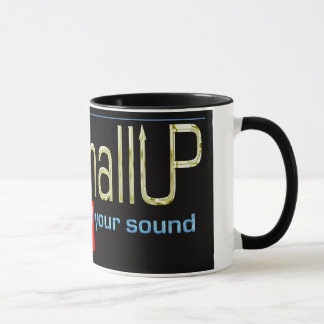 MarshallUP Music Black & White 11 oz Ringer Mug