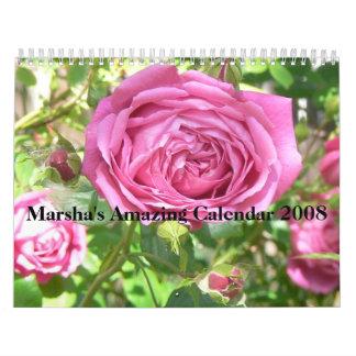 Marsha's Amazing Calendar ...