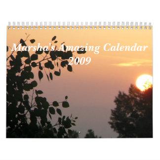 Marsha's Amazing Calendar 2009