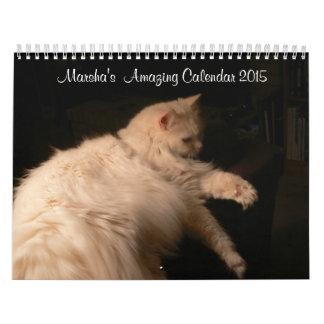 Marsha's Amazing Calendar 2015