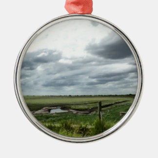 Marshes Metal Ornament