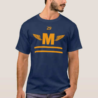 Marshfield High Winged Foot, Gold T-Shirt