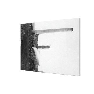 Marshfield, Oregon View of Lumber Mills Canvas Print