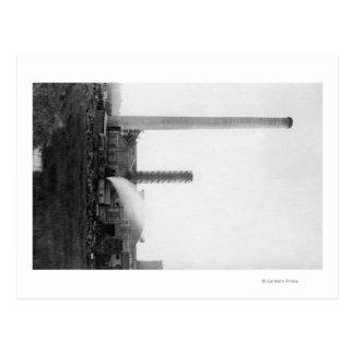 Marshfield, Oregon View of Lumber Mills Postcard