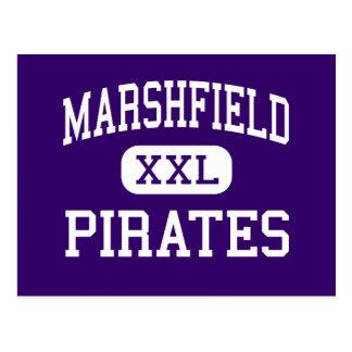Marshfield - piratas - alto - bahía Oregon de los Tarjetas Postales