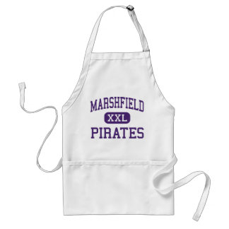 Marshfield - Pirates - High - Coos Bay Oregon Adult Apron