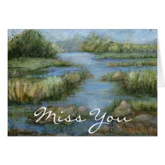 Marshland I Card
