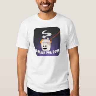 Marshmallow Burnin For You T-Shirt
